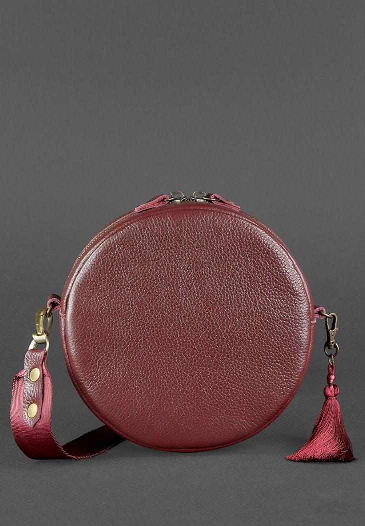 7357ce88c5c3 Круглая сумочка Tablet BN-BAG-23-marsala BlankNote марсала. Код товара:  519-422